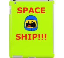 SPACE SHIP iPad Case/Skin