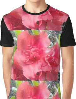 Spring Time Pink Flowers Graphic T-Shirt