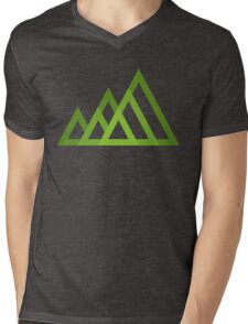 Mountains Mens V-Neck T-Shirt
