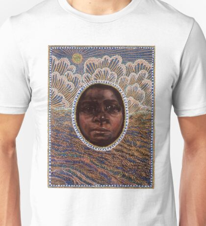 'Icon to a Stolen Child: Wave' by Julie Dowling Unisex T-Shirt