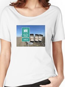 Selfie Zone Smile Women's Relaxed Fit T-Shirt