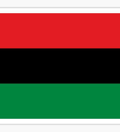 Pan African Flag T-Shirt - UNIA Flag Sticker - Afro American Flag Sticker