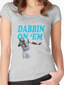 Dabbin on em Women's Fitted Scoop T-Shirt
