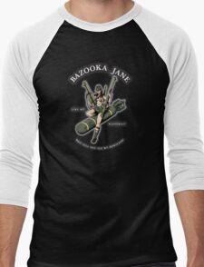 Bazooka Jane - Coloured Men's Baseball ¾ T-Shirt