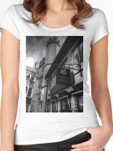 National Trust Gift Shop Bath Somerset England Women's Fitted Scoop T-Shirt
