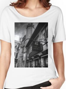 National Trust Gift Shop Bath Somerset England Women's Relaxed Fit T-Shirt