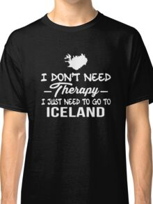 Iceland Therapy Classic T-Shirt