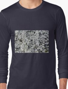 Bush with light green leaves. Long Sleeve T-Shirt