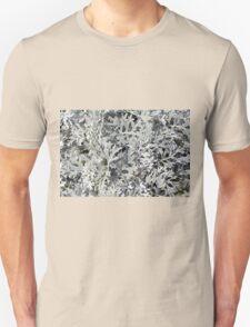 Bush with light green leaves. Unisex T-Shirt