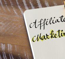 Written text AFFILIATE MARKETING Sticker