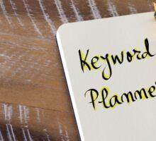 Written text KEYWORD PLANNER Sticker