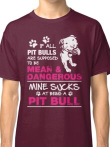 Exclusive Pit bull Classic T-Shirt