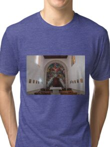 Basilica of Candelaria Tri-blend T-Shirt