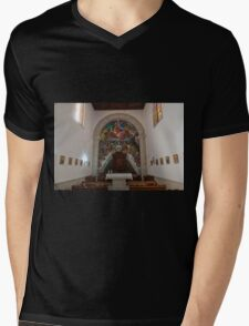 Basilica of Candelaria Mens V-Neck T-Shirt