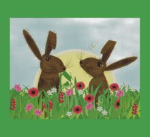 March Hare Spring Time Fun One Piece - Short Sleeve