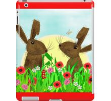 March Hare Spring Time Fun iPad Case/Skin