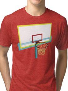 basketball basket Tri-blend T-Shirt
