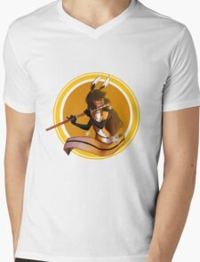 Volpina what does the fox say... Mens V-Neck T-Shirt