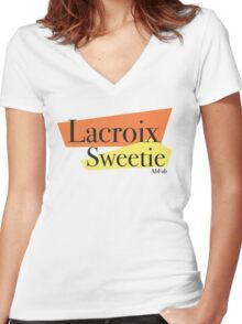 Lacroix Sweetie Women's Fitted V-Neck T-Shirt
