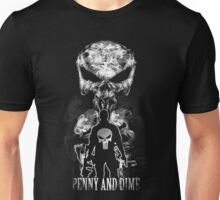 Penny and Dime. Unisex T-Shirt