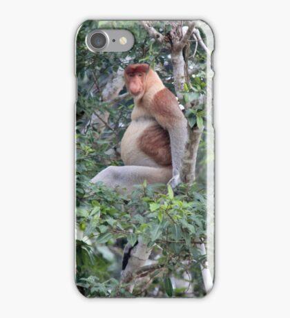 Proboscis Monkey iPhone Case/Skin
