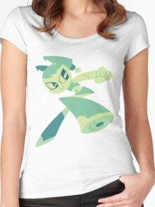 Jenny - My Life As A Teenage Robot Women's Fitted Scoop T-Shirt