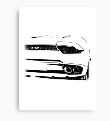 Lamborghini, super car Canvas Print