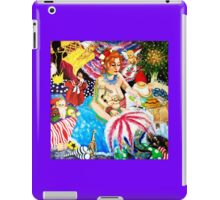 Bonkers Burlesque nude with cupids iPad Case/Skin