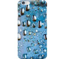 Water Drops on Glass iPhone Case/Skin