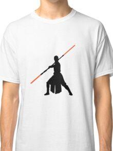 Star Wars - Rey red lightsaber (black) Classic T-Shirt