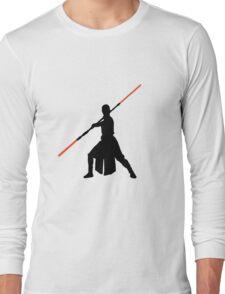 Star Wars - Rey red lightsaber (black) Long Sleeve T-Shirt