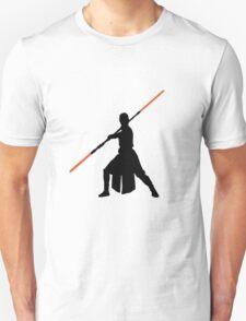 Star Wars - Rey red lightsaber (black) T-Shirt