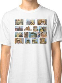 log house Russia Classic T-Shirt