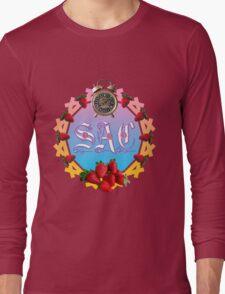 Sixties Daze Strawberry Fan Long Sleeve T-Shirt