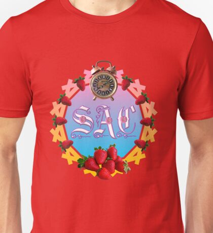Sixties Daze Strawberry Fan Unisex T-Shirt