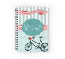 REMAIN LOYAL TO JEHOVAH! (Design no. 4) Spiral Notebook