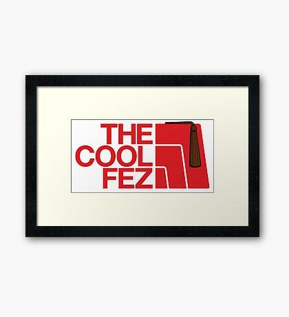 The Cool Fez Framed Print