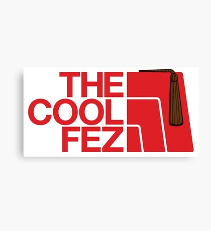 The Cool Fez Canvas Print