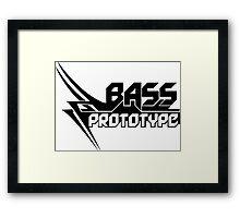 Bass Prototype Music Framed Print