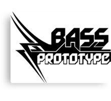 Bass Prototype Music Canvas Print