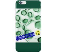 Soccer de brazil iPhone Case/Skin