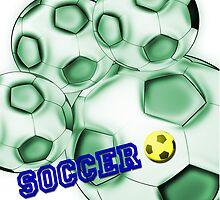 Soccer de brazil by RosiLorz