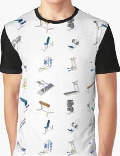fitness club Graphic T-Shirt