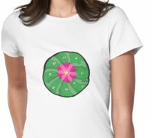 Peyote cactus Womens Fitted T-Shirt