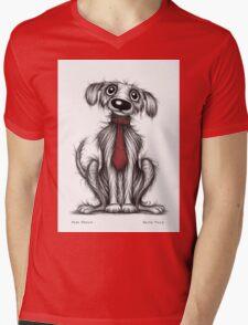 Posh pooch Mens V-Neck T-Shirt