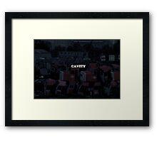 Rusty Decay Framed Print