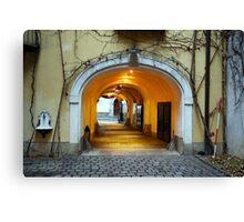 Vienna Passageway Canvas Print