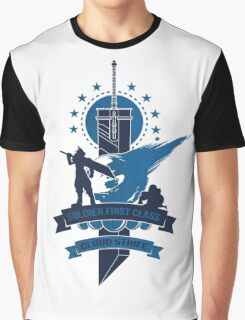 Final Fantasy 7 Cloud Strife Graphic T-Shirt
