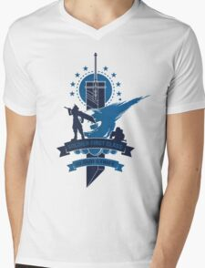 Final Fantasy 7 Cloud Strife Mens V-Neck T-Shirt
