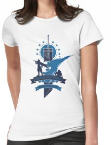 Final Fantasy 7 Cloud Strife Womens Fitted T-Shirt